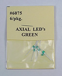Green LEDs 6 Pack