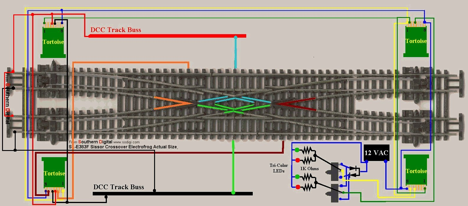 Train Switch Wiring Diagram Further Model Train Dcc Wiring Diagrams